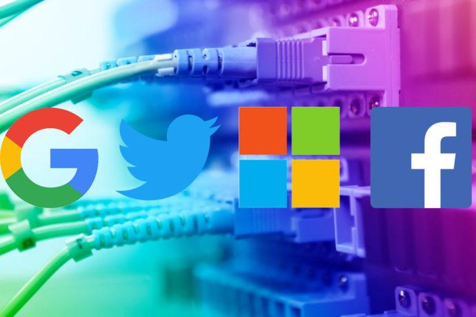 Google, Twitter, Microsoft i Facebook s'associen a nou projecte de dades