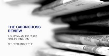 The Cairncross Review: un futur sostenible per al periodisme