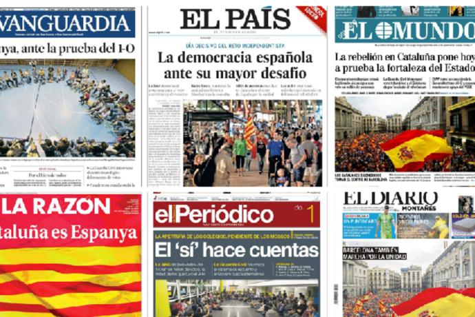 La difusió dels sis grans diaris estatals és menor a la d'El País a 2008
